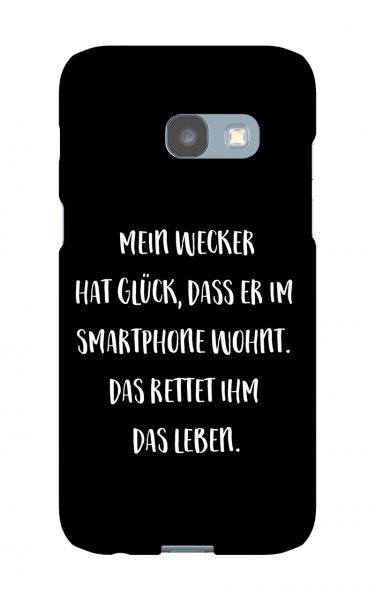 Samsung Galaxy A3 (2017) 3D-Case (glossy) Gibilicious Design Mein Wecker hat Glueck von swook! - switch your look