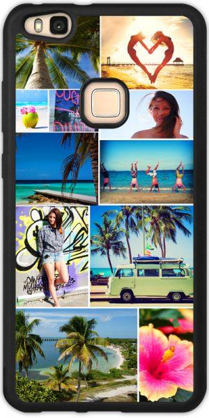 Bumper-Case (schwarz) passend für Huawei P10 lite, Selbst gestalten