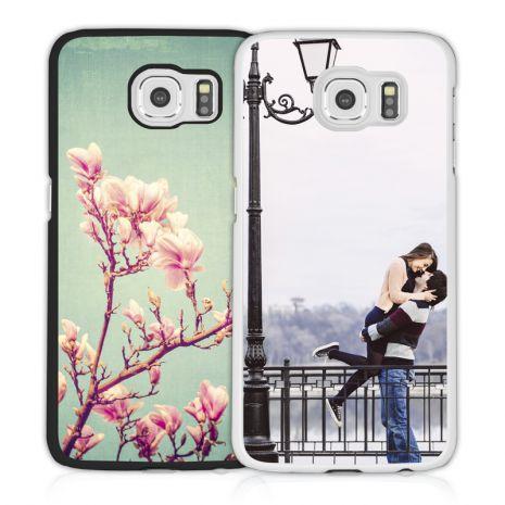 2D-Case (schwarz) passend für Samsung Galaxy S6 Edge Plus, Selbst gestalten