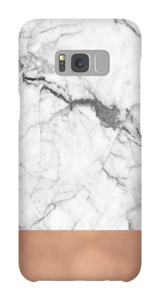 Samsung Galaxy S8 Plus 3D-Case (glossy) Gibilicious Design Grey cooper marble von swook! - switch your look