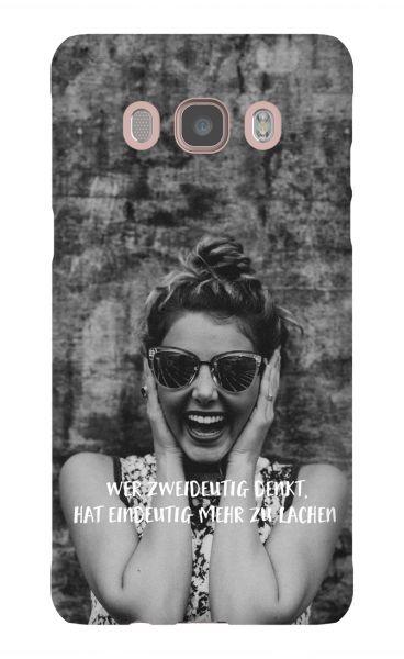 Samsung Galaxy J5 (2016) 3D-Case (glossy) Gibilicious Design Wer zweideutig denkt von swook! - switch your look