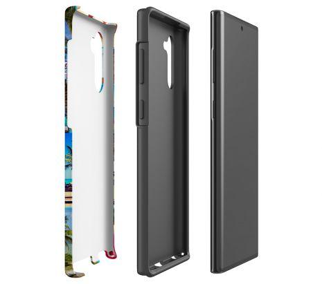 Tough-Case (glossy) passend für Samsung Galaxy Note 10, Selbst gestalten