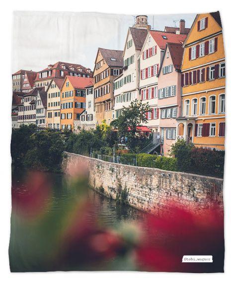 Kuscheldecke personalisiert - Tübingen
