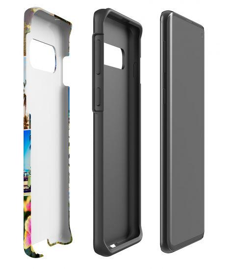 Tough-Case (glossy) passend für Samsung Galaxy S10, Selbst gestalten