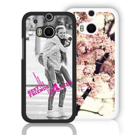HTC One M8 2D-Case (wei