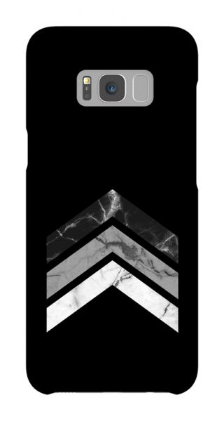 Samsung Galaxy S8 Plus 3D-Case (glossy) Gibilicious Design Arrow marble von swook! - switch your look