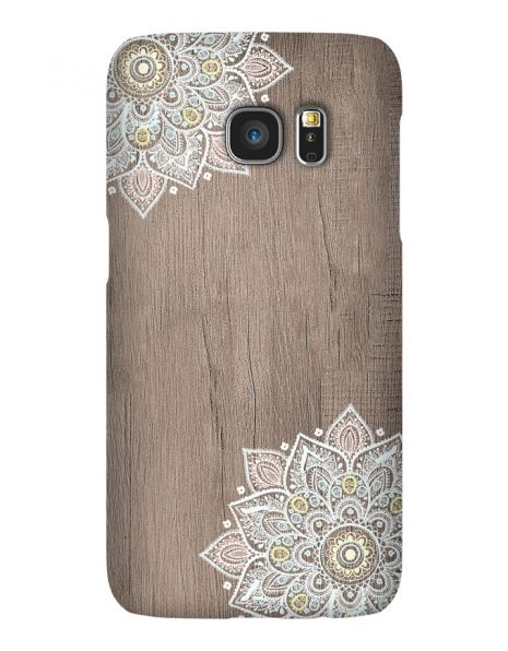 Samsung Galaxy S7 Edge 3D-Case (glossy) Gibilicious Design Mandala on wook von swook! - switch your look