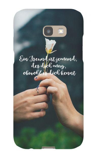 Samsung Galaxy A5 (2017) 3D-Case (glossy) Gibilicious Design Ein Freund ist jemand von swook! - switch your look