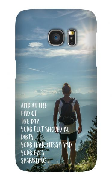 Samsung Galaxy S7 3D-Case (glossy) Gibilicious Design At the end of the day von swook! - switch your look