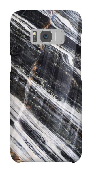 Samsung Galaxy S8  3D-Case (glossy) Gibilicious Design Striped marble von swook! - switch your look