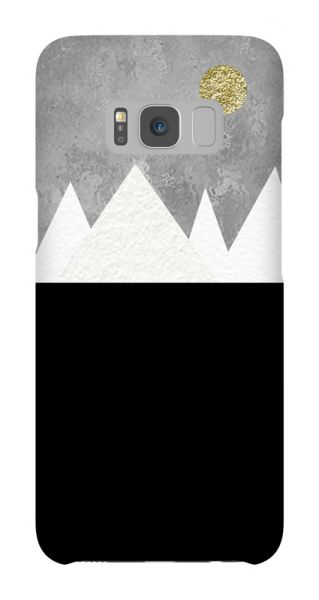 Samsung Galaxy S8  3D-Case (glossy) Gibilicious Design Mountains von swook! - switch your look