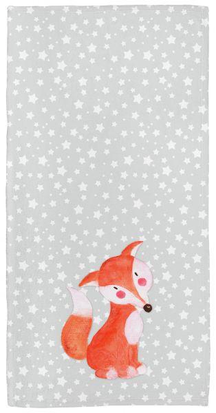 Fuchs - Babyhandtuch mit Namen