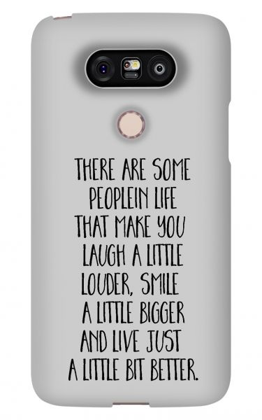LG G5 3D-Case (glossy) Gibilicious Design There are some people von swook! - switch your look