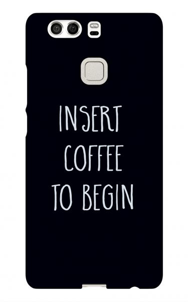 Huawei P9 3D-Case (glossy) Gibilicious Design Insert coffee to begin von swook! - switch your look