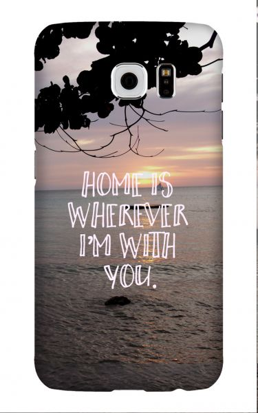 Samsung Galaxy S6 3D-Case (glossy) Gibilicious Design Home is von swook! - switch your look