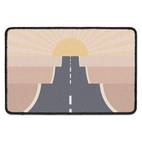 Fussmatte mit Namen - On the road desert