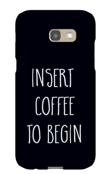 Samsung Galaxy A5 (2017) 3D-Case (glossy) Gibilicious Design Insert coffee to begin von swook! - switch your look