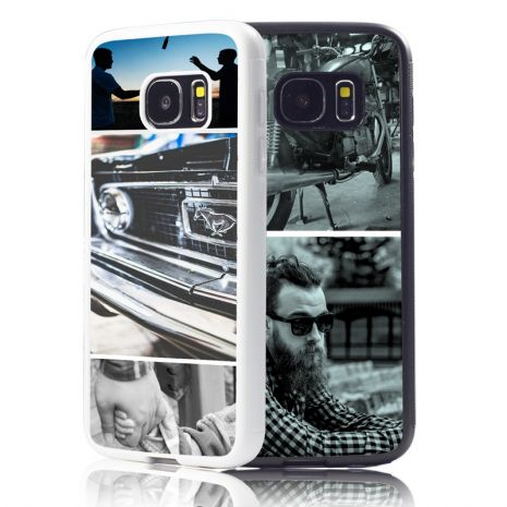Samsung Galaxy S7 Bumper-Case (schwarz) selbst gestalten mit swook! - switch your look