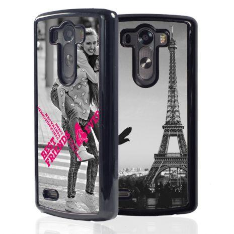 LG G3 2D-Case (schwarz) selbst gestalten mit swook! - switch your look