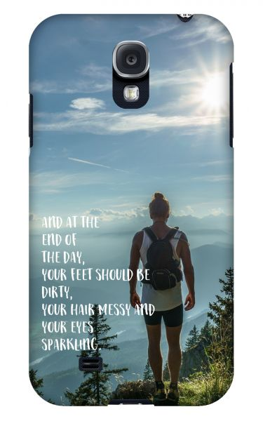Samsung Galaxy S4 3D-Case (glossy) Gibilicious Design At the end of the day von swook! - switch your look