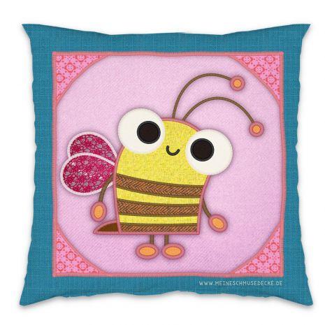 Kissen mit Biene