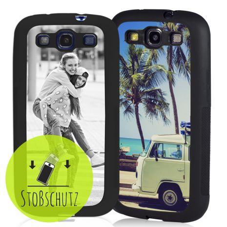 Samsung Galaxy S3 (i9300) Bumper-Case (wei