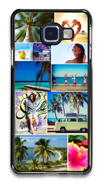 Samsung A5 (2016) 2D-Case schwarz selbst gestlaten bei swook!