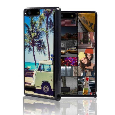 Huawei P7 Mini 2D-Case (schwarz) selbst gestalten mit swook! - switch your look