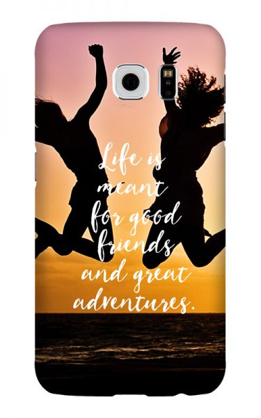 Samsung Galaxy S6 3D-Case (glossy) Gibilicious Design Life is meant for von swook! - switch your look