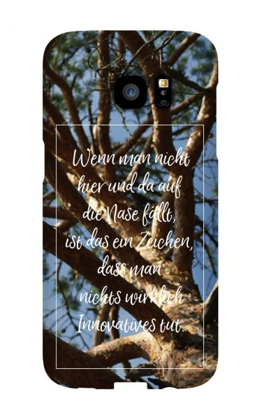 Samsung S3 Mini (i8190) 3D-Case (glossy) Gibilicious Design Auf Nase fallen von swook! - switch your look