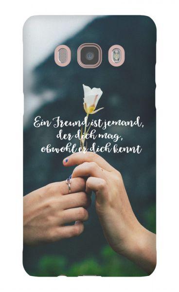 Samsung Galaxy J5 (2016) 3D-Case (glossy) Gibilicious Design Ein Freund ist jemand von swook! - switch your look