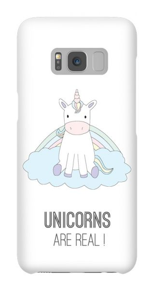 Samsung Galaxy S8  3D-Case (glossy) Gibilicious Design Unicorns are real!  von swook! - switch your look