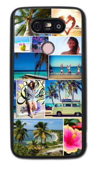 Bumper-Case (schwarz) passend für LG G5, Selbst gestalten