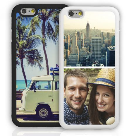 Apple iPhone 6/6s Plus Bumper-Case (schwarz) selbst gestalten mit swook! - switch your look
