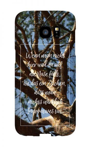 Samsung Galaxy S7 Edge 3D-Case (glossy) Gibilicious Design Auf Nase fallen von swook! - switch your look