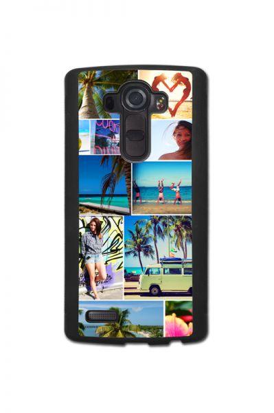 Bumper-Case (schwarz) passend für LG G4, Selbst gestalten