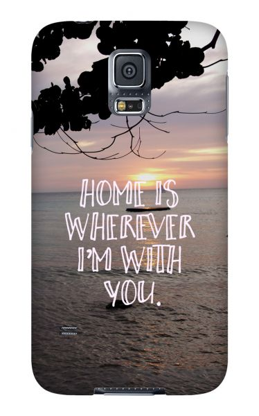 Samsung Galaxy S5 3D-Case (glossy) Gibilicious Design Home is von swook! - switch your look