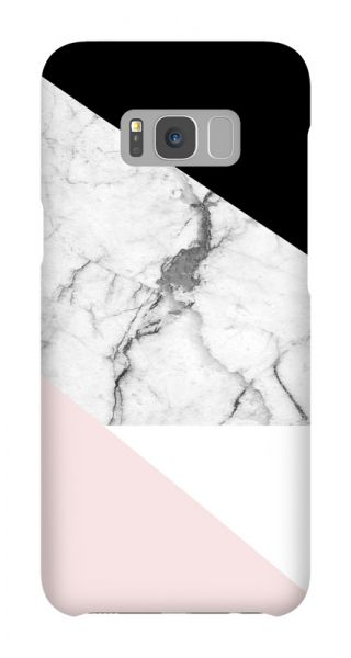 Samsung Galaxy S8 Plus 3D-Case (glossy) Gibilicious Design Graphic marble von swook! - switch your look