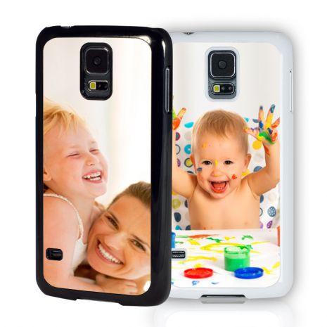 Samsung Galaxy S5 2D-Case (schwarz) selbst gestalten mit swook! - switch your look