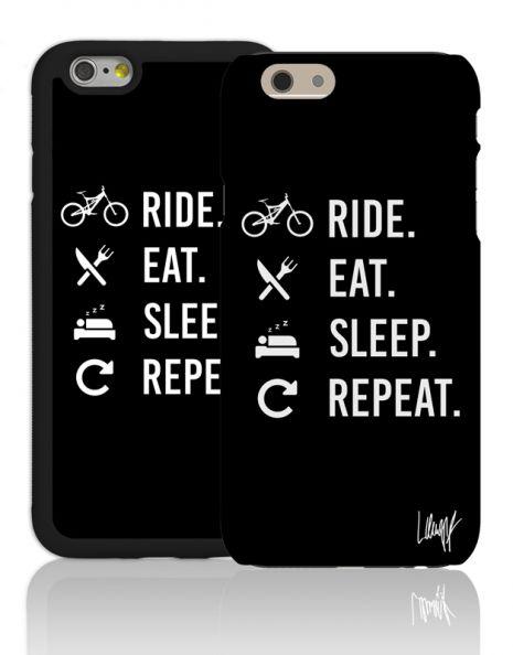Ride Eat Sleep Repeat (black)