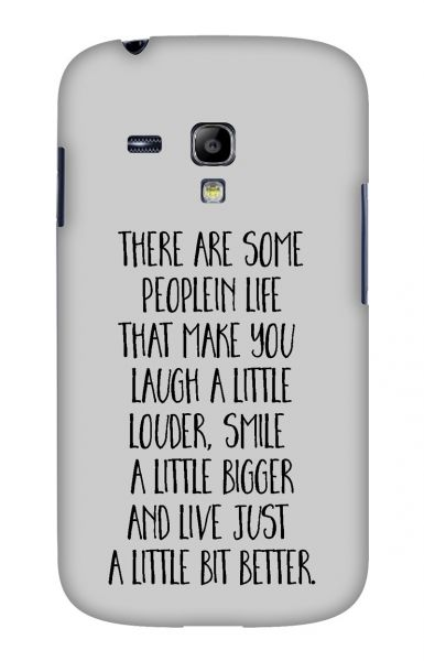 Samsung S3 Mini (i8190) 3D-Case (glossy) Gibilicious Design There are some people von swook! - switch your look