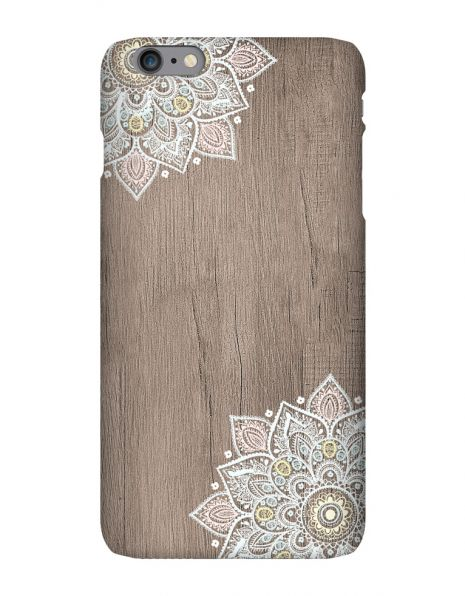 Apple iPhone 6 Plus 3D-Case (glossy) Gibilicious Design Mandala on wook von swook! - switch your look