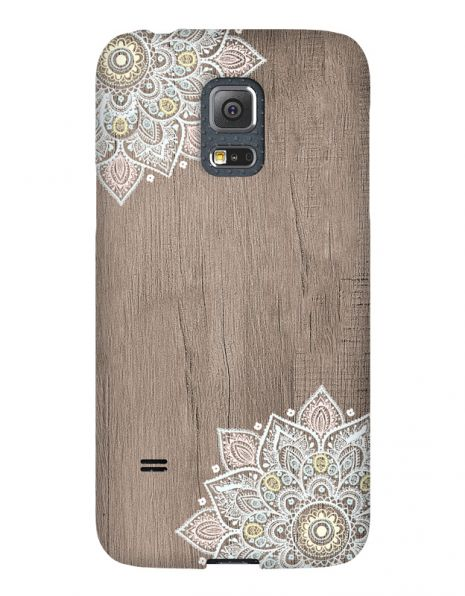 Samsung Galaxy S5 Mini 3D-Case (glossy) Gibilicious Design Mandala on wook von swook! - switch your look