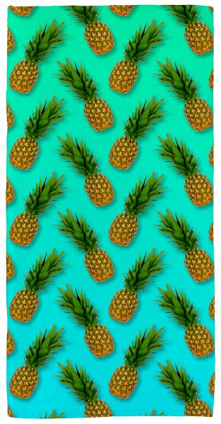 Ananas - Handtuch mit Namen