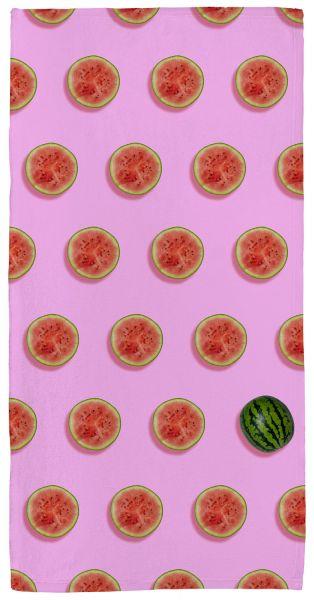 Melone - Handtuch mit Namen