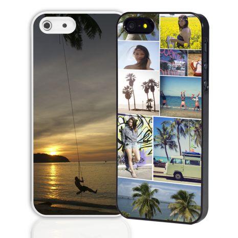 Apple iPhone 5/5S/SE 2D-Case (wei