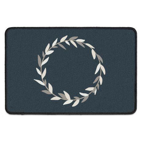 Fußmatte mit deinem Text - Wreath