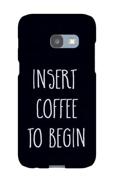 Samsung Galaxy A3 (2017) 3D-Case (glossy) Gibilicious Design Insert coffee to begin von swook! - switch your look