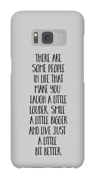 Samsung Galaxy S8  3D-Case (glossy) Gibilicious Design There are some people von swook! - switch your look
