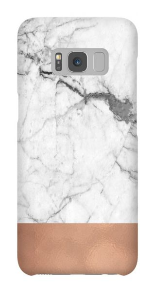 Samsung Galaxy S8  3D-Case (glossy) Gibilicious Design Grey cooper marble von swook! - switch your look